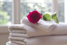 Individuell bedruckte Handtücher