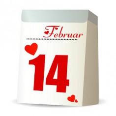 Nur das Schönste zum Valentinstag